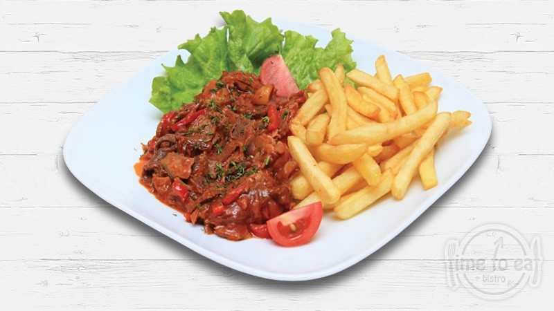 Pork With Red Sauce